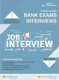 A Guide To Crack Bank Exams Interviews Book (English Printed Edition) by Adda247 Publications