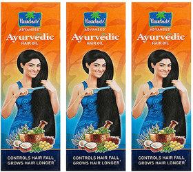 Parachute Coconut Hair Oil Control Hair Fall 95ml Pack Of 3