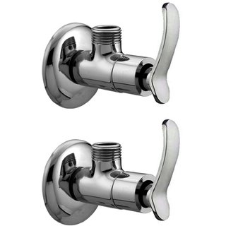 Joyway Duck Angle Cock, Angle Valve Stop Cock Brass (Pack of 2 Pieces)