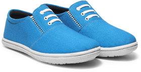 Kzaara Men's Sky Blue  Sneakers