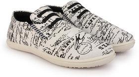 Kzaara Men's White Sneakers