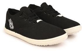 Kzaara Men's Black Sneakers