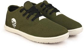 Kzaara Men's Green Sneakers