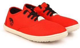 Kzaara Men's Red Sneakers