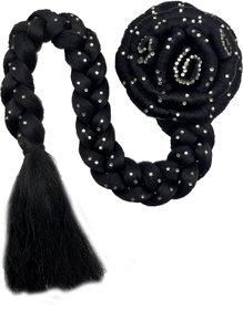 Jasmina Super Deluxe Style/ Premium Accessories bun/ juda With Choti