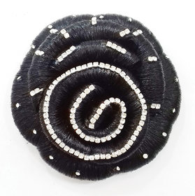 Jasmina Super Deluxe Style/ Premium Accessories bun/ juda Hair Extension