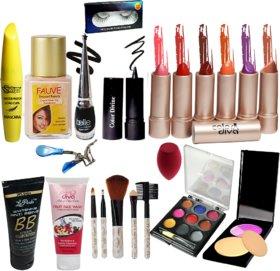 La Perla Makeup combo set of 18 Pcs