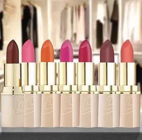 LOTUS  UP MAKE-UP PURE COLORS MATTE LIP COLOR ENDLESS mix shade pack of 7 ps(Multicolor, 4.2 g)