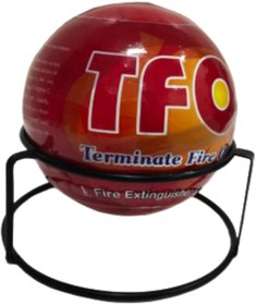 TFO Terminate Fire Extinguisher Ball, 1.3 KG with Stand