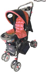 Oh baby, baby Full Size Stroller  Pram With 8 Wheels And Mosquito Net For Your Kids SE-PR-08