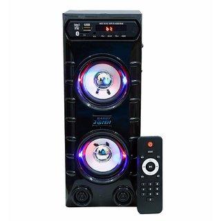 Barry John MINI Bahubali with AUX, USB, Bluetooth, FM  MMC 50 W Bluetooth Speaker  (white)