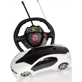 Zyka Online Services Steering Quality Remote Control Car for Kids (Multi Colour)