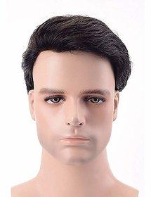 Shaear Hairs Human Short Hair Wigs For men(size 810,brown)