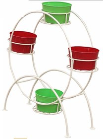 OKASHA MS GAMLA STAND, PLANT STAND, POT STAND FOR INDOORS, OUTDOORS ( POTS AND PLANTS ARE NOT INCLUDED WITH THE STAND )