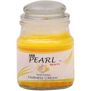 Pearl Night Cream for Tan, pimples, pimple marks, open pores, pigmentation, under eye circles removal