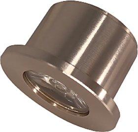 LEDOLUX 1 Watt Daylight (4000K) Round LED COB Spot light for false ceiling useful in home, office, bathroom, living room
