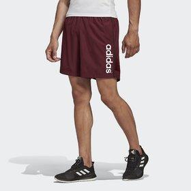 Adidas Maroon Lycra Running Shorts For Men