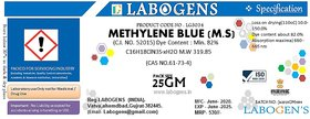 METHYLENE BLUE 82 For Microscopy - 100 GM