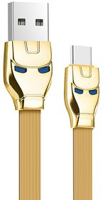 KSS U14 Steel man Cable USB to Type C charging data sync by Hoco Brand With Multicolor