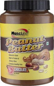Musclife Chocolate Peanut Butter-1kg (Chocolate 1Kg)