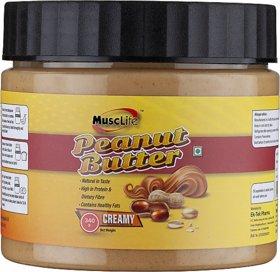 Musclife Creamy Peanut Butter (Creamy 340gm)