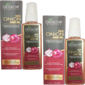 Oxyglow Red Onion hair oil (100 ml) (2 Pcs)