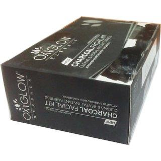 Oxyglow Herbals Charcoal facial kit (60 gm) (1 Pcs)