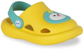 Screen Shopping Store  Baby Face Clogs for Kids - Yellow  2 years to 3 years