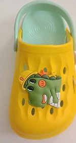 Screen Shopping Store Candy Baby Boys  Applique Clogs in Green Color 2 Years  to 3 years