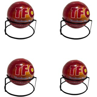 TFO Terminate Fire Extinguisher Ball - Pack of 4 Balls