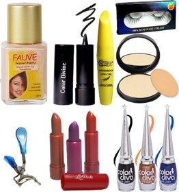 La Perla Makeup combo set of 12 Pcs