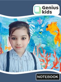 Genius Kids Notebook for English ( 172 Pages) pack of 5