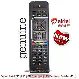 Airtel DTH Digital TV SD HD BOX Remote Control