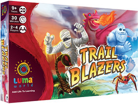 Luma World Educational Board Game for Ages 9 and up Trail Blazers  STEM game to Learn Shapes, Lines, Angles and Impro