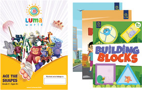 Luma World Grade 3 Math Application Workbooks and Building Blocks Ace the Shapes  Learn  Practice Geometry and Patter