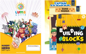 Luma World Grade 4 Math Application Workbooks and Building Blocks Number Hero  Learn  Practice Numeracy Concepts thro