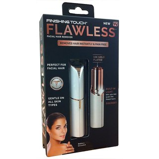 Flawless Facial Hair Removal /Hair Machine /Hair Remover /Shaver and Trimmer For Women/Ladies/Girls Pain Free