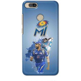 IPL FANS Digimate Multicolor,  Hard Matte Printed Designer Cover Case For MI 5X