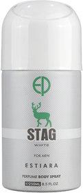 Estiara Stag White For Men Perfume Body Spray 250ML