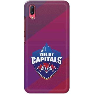 IPL FANS Digimate Multicolor,  Hard Matte Printed Designer Cover Case For Vivo Y93s