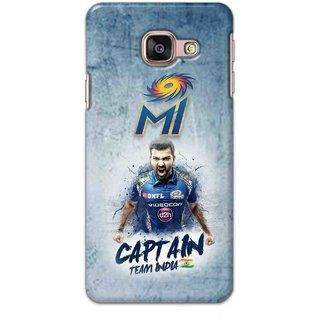 IPL FANS Digimate Multicolor,  Hard Matte Printed Designer Cover Case For Samsung Galaxy A3 2016
