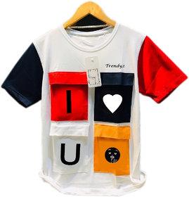Tredndyz Men Multicolor Stylish Poly Cotton T shirt