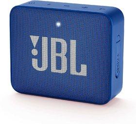 JBL Go2 Plus 3 W Bluetooth Speaker(Blue, Mono Channel)