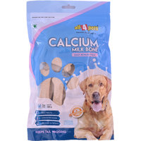 All 4 pets Calcium Milk Bone Medium-350g(14pcs)(For Puppies)