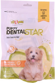 All4pets Puppy Dental Star Chicken Flavour-250g(50pcs)(For Puppies)