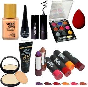 La Perla Makeup combo set of 13 Pcs