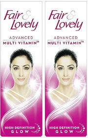 Fair  Lovely Glow  Lovely Advanced Multi Vitamin 25gm Pack of 2
