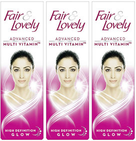 Fair  Lovely Glow  Lovely Advanced Multi Vitamin 25gm Pack of 3