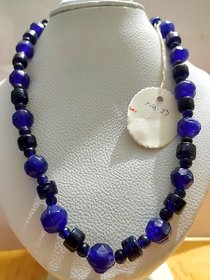 New Handmade Designer Faction Glass Beads Necklace For Collage Going Girls, Party  Casual Wear Jewellery