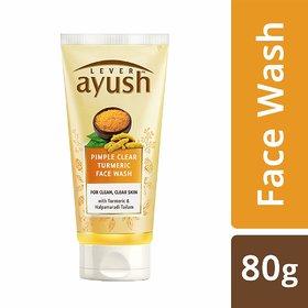 Lever Ayush Anti Pimple Face Wash, 80g